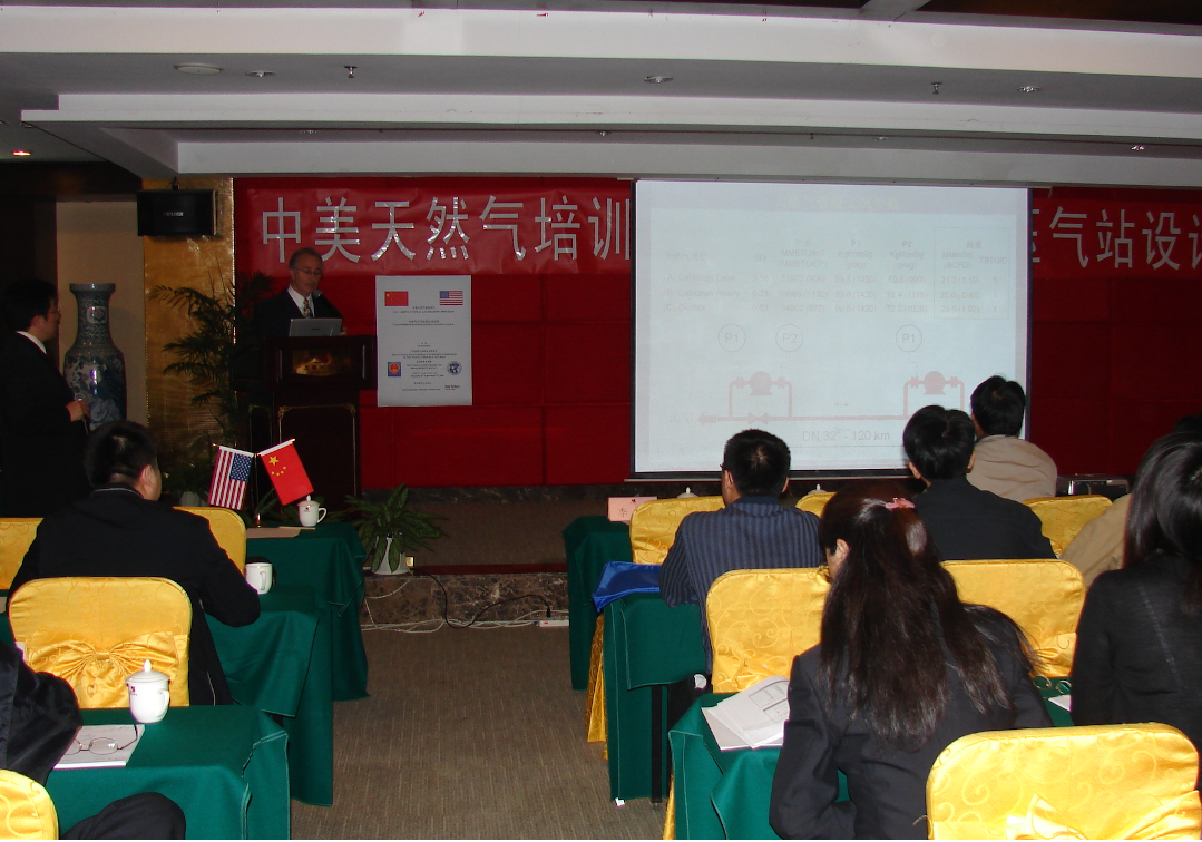 Compressor Station Design Training Course, China